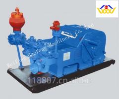 Horizontal 3-Cylinder Mud Pump