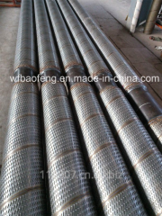 Pipes boring for geological survey