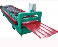 Roof wall panels forming machine