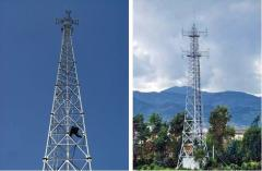 Masts and towers for telecommunications