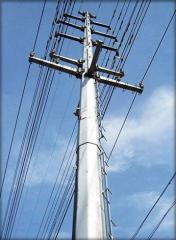 Self Supporting Power Transmission Polygonal Pole