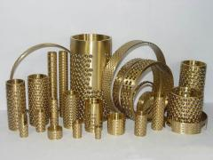 CHB-FZH Bronze Keep Series bearing with ball insert