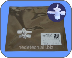 DEVEX Gas Sampling Bag with medical PC side-opening stopcock valve
