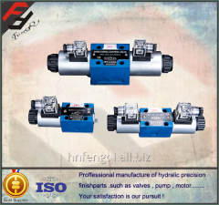 Hydraulic valves, control valves, 4WE6 series