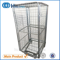 BY-10 Logistic wire mesh storage roll containers