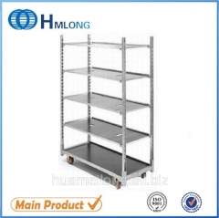 FT-1  Flower cart danish trolley for welding mesh metal show rack