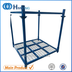 HML-7272WM Industrial steel semi trailer spare tire rack