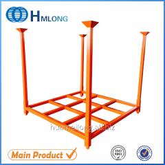 HML6060 Powder coating stacking metal warehouse tire rack