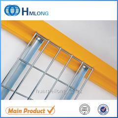 Welded metal U channel galvanized wire deck for step beam