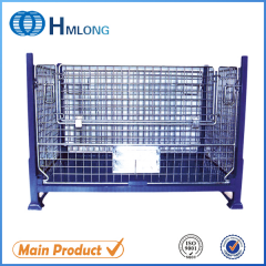 BEM Industrial durable storage steel pallet container  auto