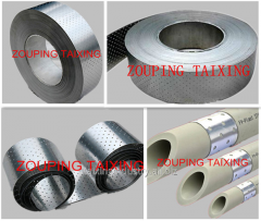 Aluminium coil  with one side glue coated