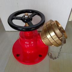 Brass fire hydrant landing valve