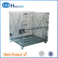W-10 Stackable wire mesh heavy duty steel cage