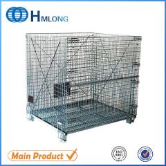 W-10 Stackable wire mesh heavy duty steel cage
