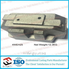 Ductile iron body