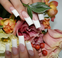White gel for nails