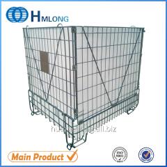 F-28 Large warehouse mesh metal cage storage