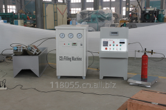 Fire extinguihser co2 filling machine manufactures