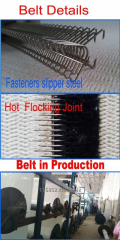 Auto corrugator belt