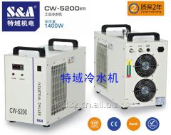 S&A CW-5200冷水机用于布料皮革激光裁床冷却