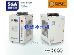 S&A主轴冷水机用于CNC加工中心、雕刻机冷却