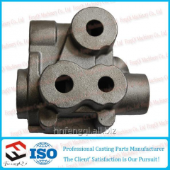 Pig-iron foundry castings hydraulic valve casting