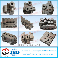High-strength cast iron hydraulic valves casting