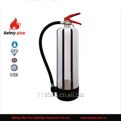 CE 6L AFFF stainless steel foam fire extinguisher