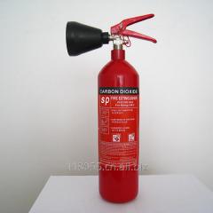 Portable 2kg CO2 fire extinguisher