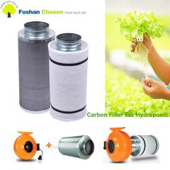 Hydroponics activated carbon air filter