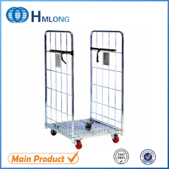 BY-07 Metal wire mesh equipment storage roll cage