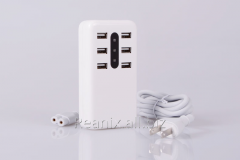 USB charger 6 socket  OFS-195