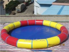Pools dry