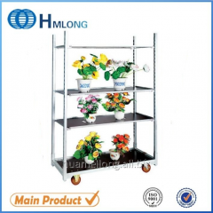FT-1  Metal show rack flower cart danish trolley