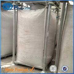 M-6 Big bag support metal stillage Warehouse storage metal stacking racking shelving  for big bag PET preform