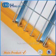 U channel Zinc steel wire welded deck design for shelves