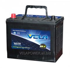 Lead acid battery 12v 65ah VELA NS70