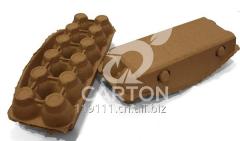 Paper egg carton 2x6