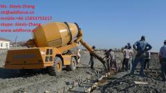 ADDFORCE self loading concrete mixer
