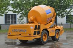 LT3500 Good performance Mobile Self Loading Concrete Mixer Trucks For Sale