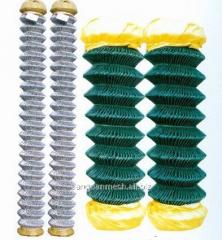 Galvanized chain link fence( diamond wire mesh),
