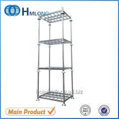 M-1 Warehouse galvanized stacking pallet converter  metal stillage shelving