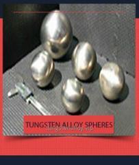 High Density Heavy Alloy Spheres