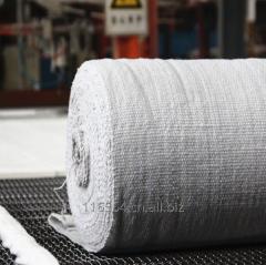Textiles made of ceramic fiber