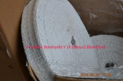 Textiles made of ceramic fiber tape