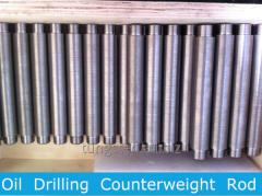 Tungsten Alloy Sucker Rods, Sinker Bars, Oil Drilling Weight Rod