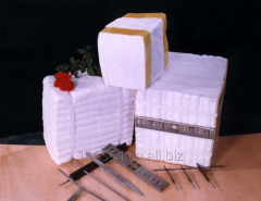 Heat insulation blocks (modules) are made of ceramic fiber and brands TOPWOOL from producer