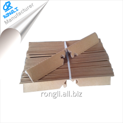 Easy operation paper angle board for packaging