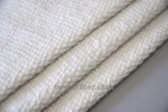 Materials fireproof made of ceramic fiber