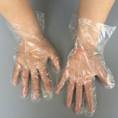 Disposable household PE plastic gloves